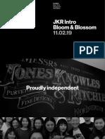 JKR for Bloom & Blossom Intro 060219