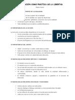 5 Ppios Freire Educación Como Práctica de La Libertad