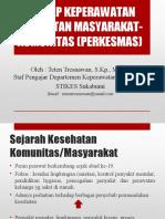 KONSEP KEPERAWATAN KESEHATAN MASYARAKAT-KOMUNITAS.ppt
