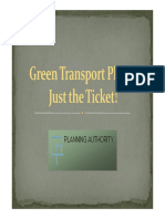 Green Transport Plan