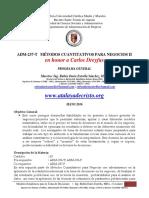 Modelos Estadísticos para la Toma de Decisiones 2016 - CON PROGRAMA.pdf
