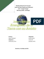 Intercambio Energetico de La Tierra Con Su Ambito