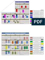 Calendario Pgt-mgi 2019 en Construccion