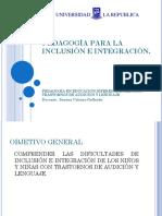 Pedagogía Para La Inclusión e Integración