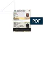 Bilhete de Identidade