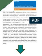Tema 4. Competencias Docentes Que Favorecen El Aprendizaje Significativo
