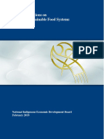 NIEDB — Recommendations on Northern Sustainable Food Systems