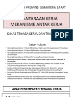 Perantaraan Kerja, Mekanisme Penempatan Tk