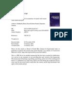 Experimental Study CKD