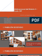 Análisis Pseudotridimensional Del Módulo 3 – Pabellón Post