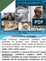 PREZENTARE ROMANITATEA ROMÂNILOR ÎN VIZIUNEA ISTORICILOR CLS. 12.ppt