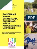 Panorama Sobre Etnografía Con Niños, Niñas, Adolescentes y Jovenes