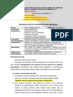 PRODUÇÃO TEXTUAL INTERDISCIPLINAR - PLANEJAMENTO PARA A ABERTURA DE UMA EMPRESA DE CALÇADOS SUSTENTÁVEIS