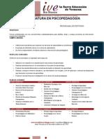 programa psicopedagogia