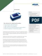 DS Time Domain Reflectometer IRG 2000 BAUR en-gb