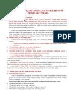 Hukum Perjanjian Dalam Aspek Hukum Bisnis