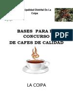 Bases Concurso - De Cafe Coipa