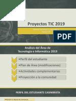 Proyectos TIC 2019