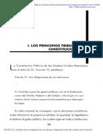 Los Prinicpios Tributarios Constitucionales