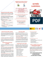 Triptico Stress Laboral