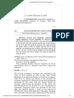 Cebu United Enterprises vs. Gallopin