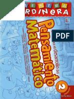 GUIA PARA EL DESARROLLO DEL PENSAMIENTO MATEMATICO