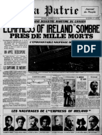 Journal La Patrie du 29 mai 1914. Source