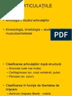 Articulatiile