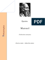Epictete Manuel