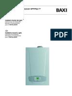Manual Caldera BAXI TB