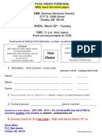 Food Order Form1 Mail