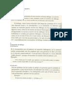 El Diálogo en La Estructura Narrativa