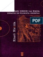 Nishira Kitaro - Pensar Desde La Nada.pdf
