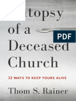 Autopsy of a Deceased Church - Thom S. Rainer