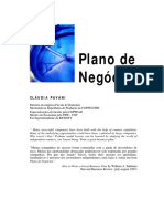 Plano de Negócios Cláudia Pavani
