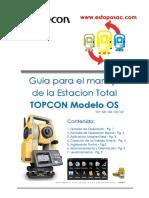 MANUAL ESTACION TOTAL TOPCON MODELO OS