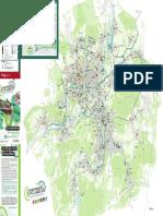 Les pistes cyclables à Montbéliard