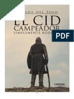 El Cid Campeador Simplemente Rodrigo - 5C