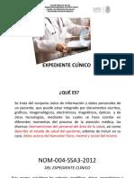 Nom 004 Del Expediente Clinico