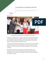 15-01-2019- Entregarán becas pendientes a estudiantes del nivel básico - Opinionsonora.com
