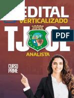 Edital Verticalizado Analista Judiciário TJCE