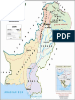 Mapa Oficial Pakistan