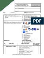 PST-ToL-001 Abastecimiento de Agua en Cisterna