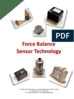 Force Balance Sensor Technology