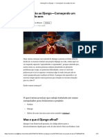 Introdução Ao Django — Começando Um Projeto Do Zero