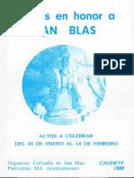 San Blas 1988