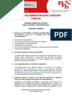 Examen 2 - Administracion y Gestion Publica