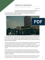 Contralinea -Universidades Públicas en Latinoamérica