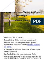 Aula sobre Cartas Chilenas – Tomás Antônio Gonzaga