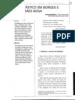 O fantástico em Borges e Guimarães Rosa. Joaquim Branco. Verbo de Minas n° 3. CES-JF. Nov.1999